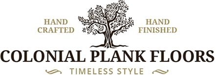 Colonial Plank Floors, Logo
