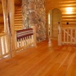 Cabin with Red Oak Planks