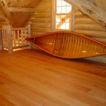 Red Oak Planks in Cabin