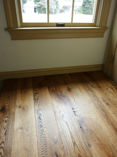 White Oak Flooring with Natural Lighting