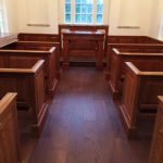 Hand Rubbed Stain in Chapel