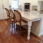 Calico Planks in Kitchen