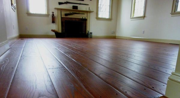 Hardwood Flooring in Small Room