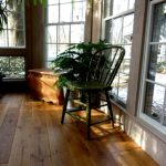 White Oak in Sunroom